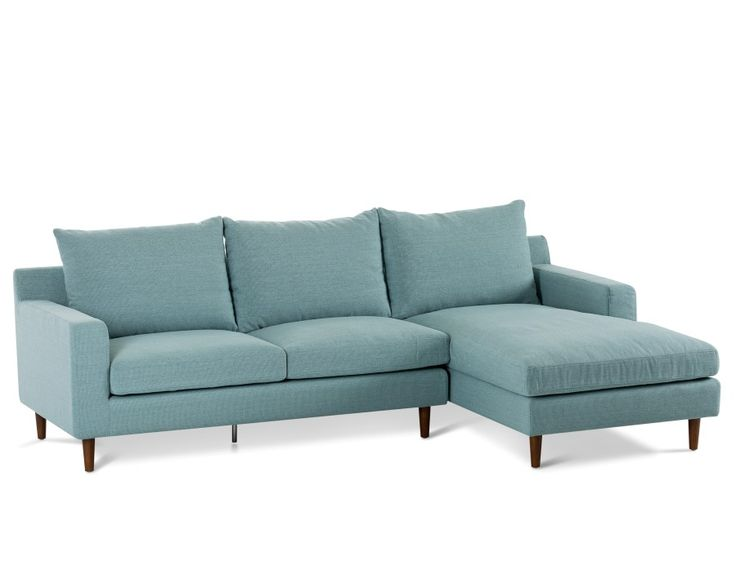 Constance Sectional Sofa Right Teal Sectional Sofa