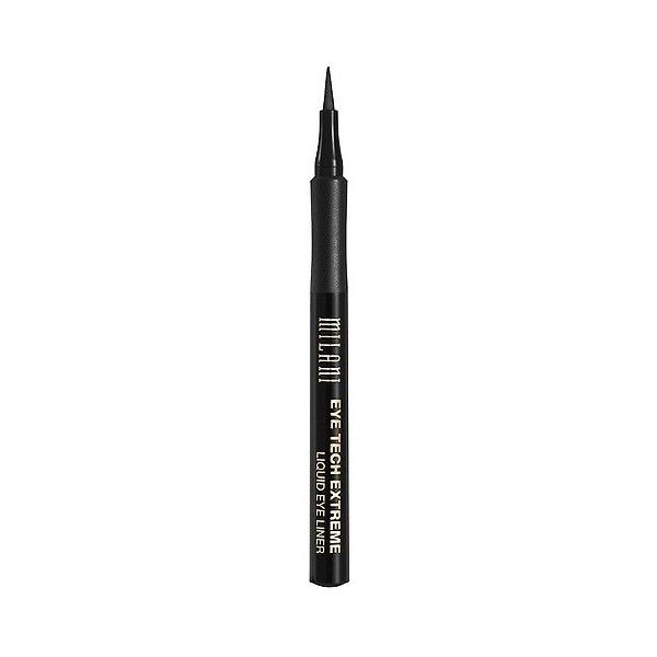 Milani Eye Tech Extreme Liquid Eye Liner ($7.49) ❤ liked on Polyvore featuring beauty products, makeup, eye makeup, eyeliner, blackest black, liquid eye liner, liquid eyeliner, liquid eye-liner and milani eyeliner