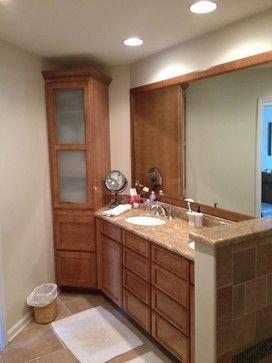 Bathroom Kabinart Cabinets, All Plywood, Granite Counters, Undermount  Sinks, Radiant Heated Tile