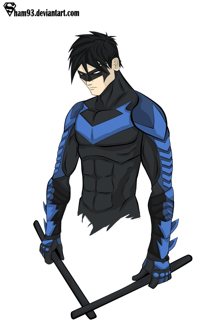 Nightwing Young Justice Photo 30785699 Fanpop Fanclubs
