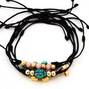 Pulsera Lady Bird Corazones | | www.dulceencanto.com accesorios para mujer #pulseras #accesorios #moda