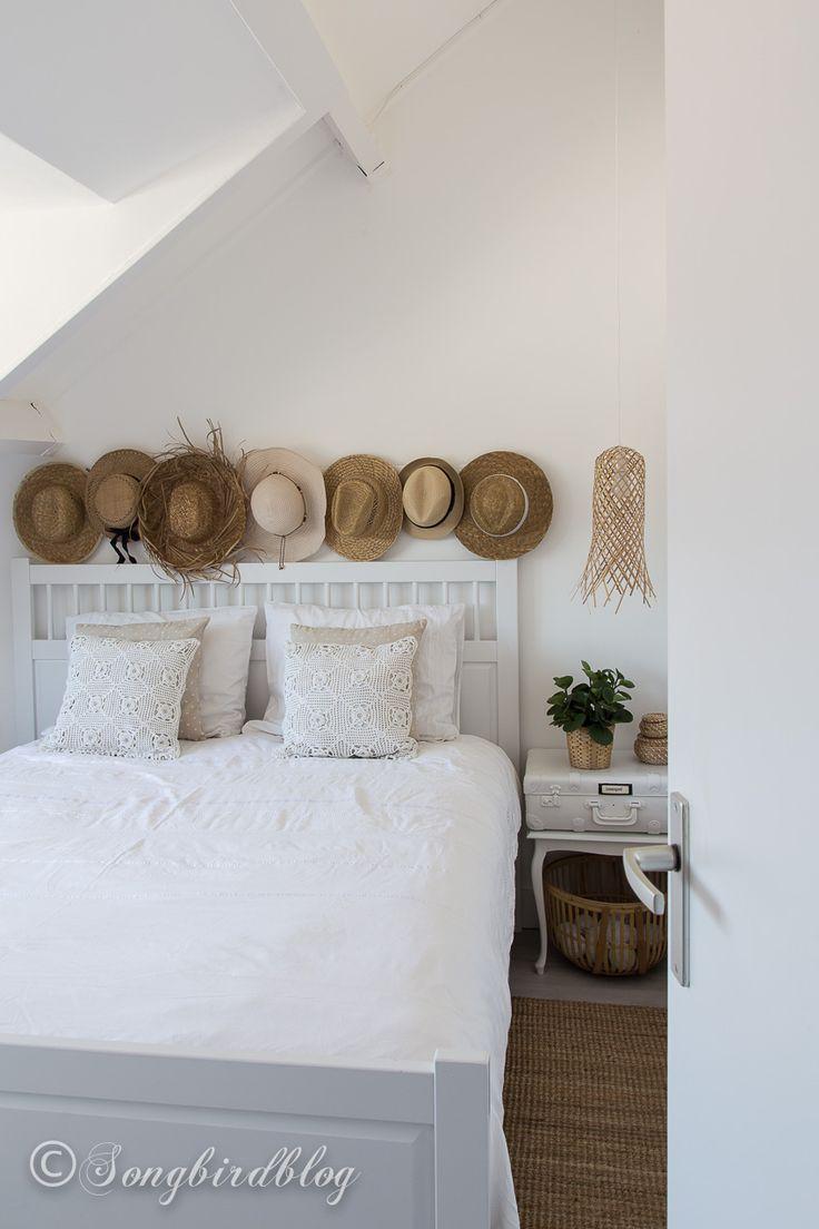 White Boho Bedroom with a Beachy Vibe