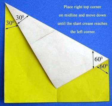 úhly pomocí papírového čtverce