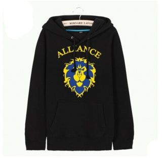 World of Warcraft pullover hoodies for men Lions college sweatshirts