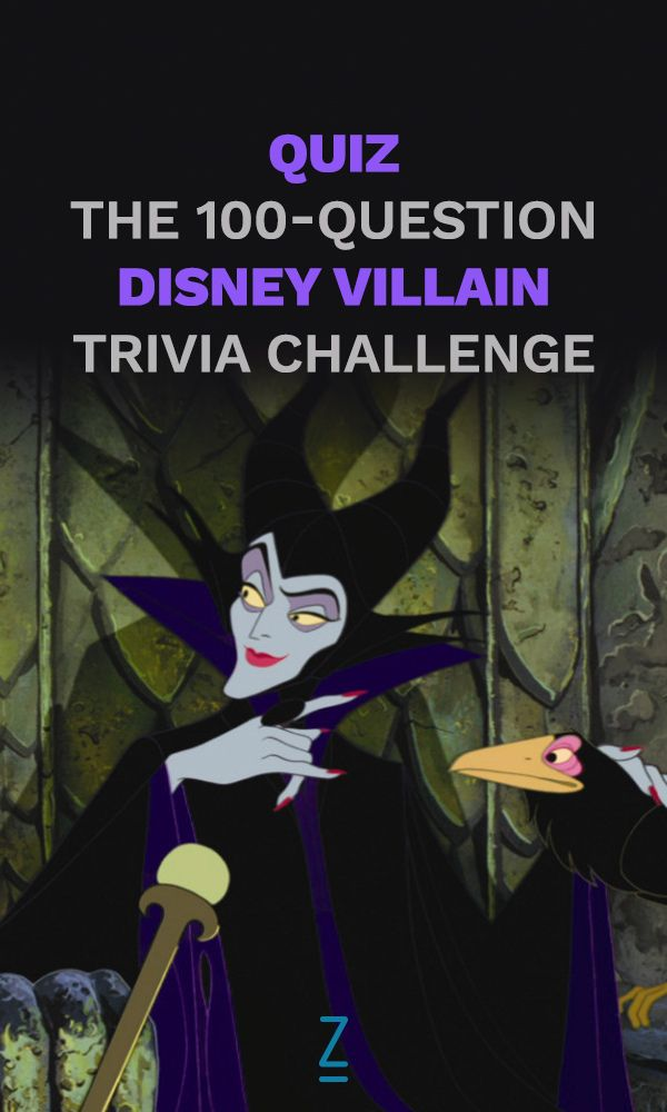How well do you really know your Disney villains?