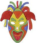 Colorful Paper Masks: Multicultural Art and Craft Lessons for Kids: KinderArt ®