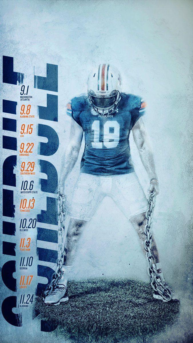 Auburn Sports Graphic Design Auburn Football Sports Design Inspiration