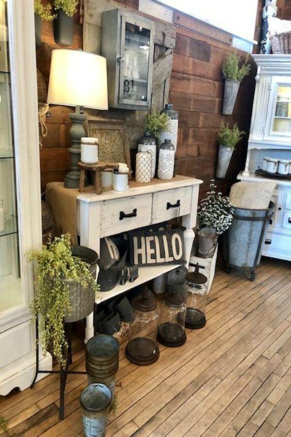 12 American Farmhouse Decor Inspirations To Steal Hello Lovely Country Decor Rustic Farmhouse Kitchen Decor Farmhouse Decor