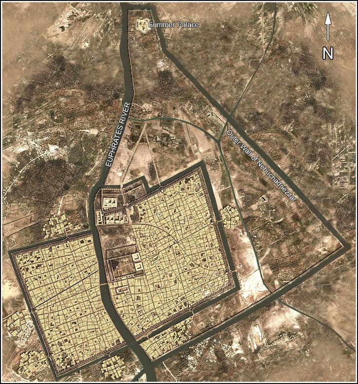 City plan of Babylon Babylon MapAchaemenidBabelAncient MesopotamiaCarthageHistorical