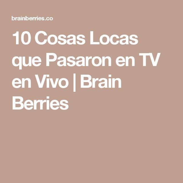 10 Cosas Locas que Pasaron en TV en Vivo | Brain Berries