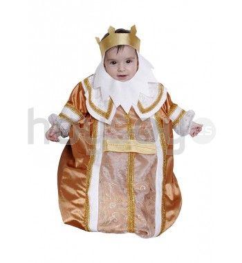 #Disfraz de rey mago para bebé Incluye: traje y corona-barba #Navidad #Disfraces #Carnaval