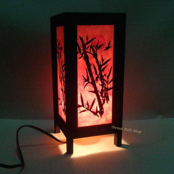 Table lantern TL 018. Handmade lantern. For by ThreadBallsShops