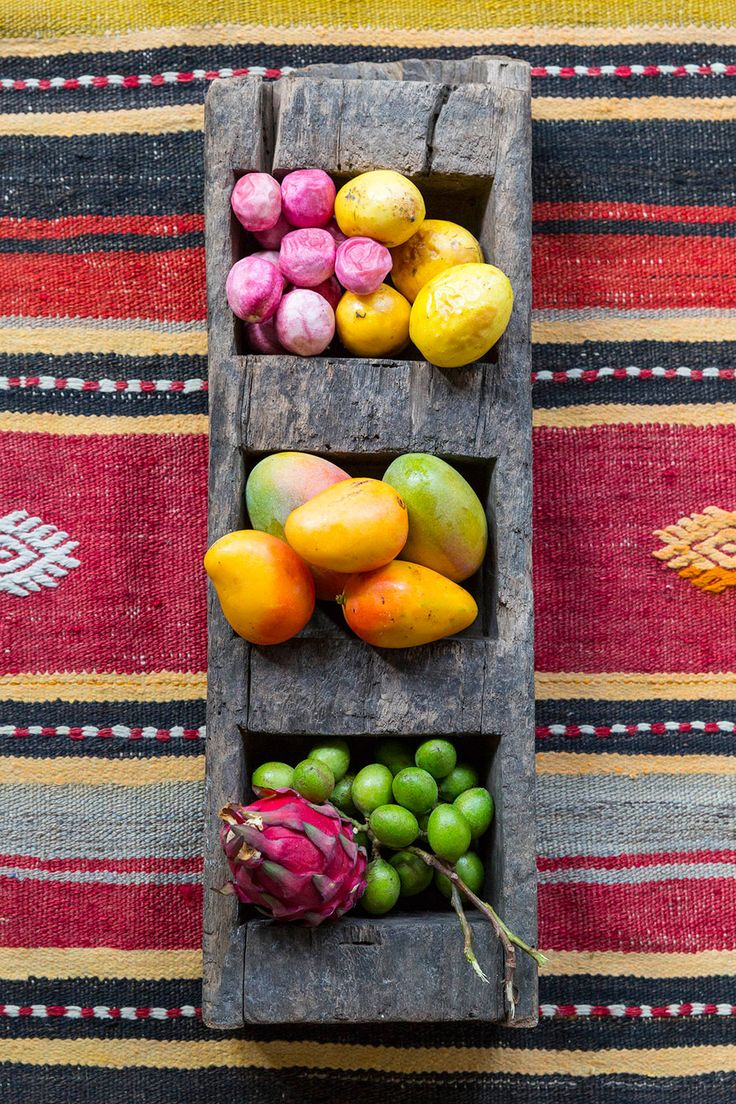 The daily fruit basket served in each room at Nicaragua's Tribal Hotel
