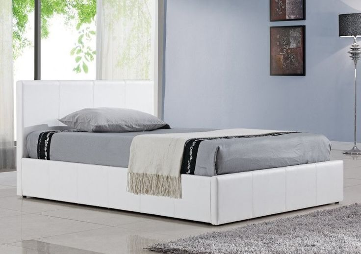 * Sale * Birlea Berlin Leather Ottoman Bed From £190 Free Next Day Delivery