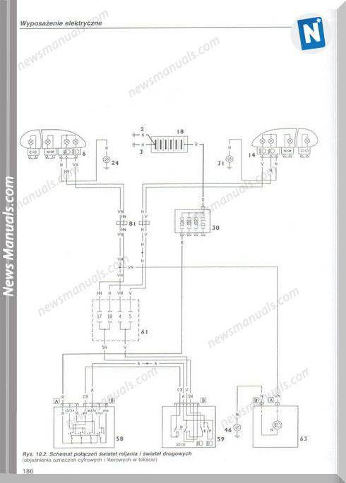 Fiat Palio Siena Silnik 1 2 8V I 1 6 16V Wiring Diagram in