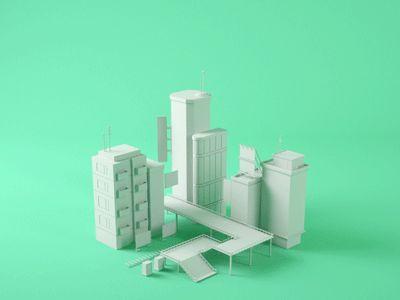 City Build by Chris Guyot - Dribbble