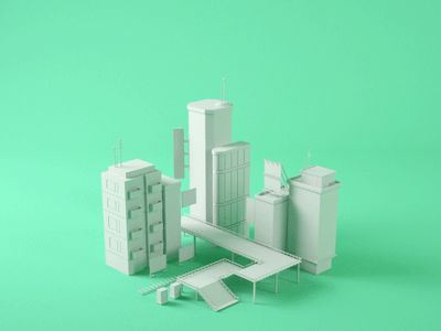 City Build by Chris Guyot - Dribbble