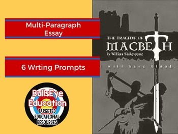 macbeth writing prompts