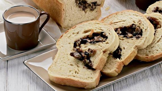Пирог-бриошь с грибами, пошаговый рецепт с фото