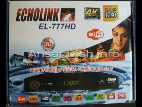 ECHOLINK 777 HD RECEIVER AUTO ROLL POWERVU KEY SOFTWARE NEW