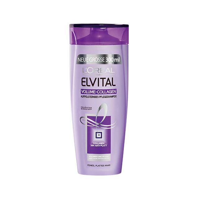 Elvital Volume Collagen Aufpolsterndes Pflegeshampoo Gutes Shampoo Haare Pflegen Shampoo