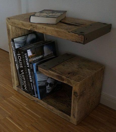 Gran idea hecho de tablas viejas muebles hechos con - Mesa de palets ...