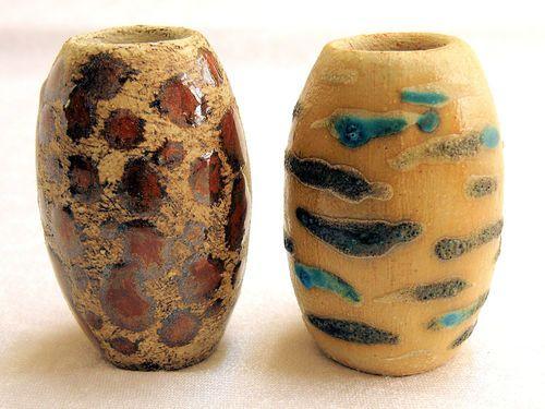 Keramik - Garten - Stele, Einzelteil