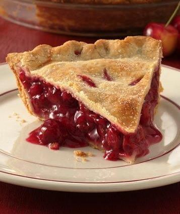 Why mess with a classic? This timeless cherry pie recipe has great ratings, and only requires a handful of ingredients. Make sure to use sour cherries (also known as pie cherries or tart cherries) for this pie—sub in 6 cups frozen tart cherries, or 3 cans tart cherries, if you aren't able to find fresh sour cherries.