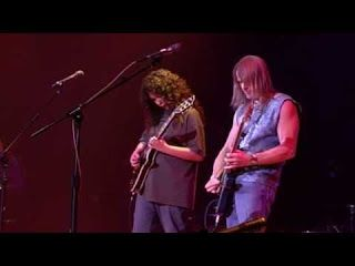 "Chelsea Constable: Stressfest Chelsea with Steve Morse back in 2003   Hey everyone! I wanted to let you guys check out a rare video. It's a video of me and one of my main influences Mr. Steve Morse playing one of his songs called ""Stressfest"". The show was at the Ryman Auditorium in Nashville on Friday July 18 2003 at the All Star Guitar Night featuring Les Paul. At that time I was being filmed for a prodigy show for VH-1 and Camera Planet. I had a wonderful time that weekend and got some…"