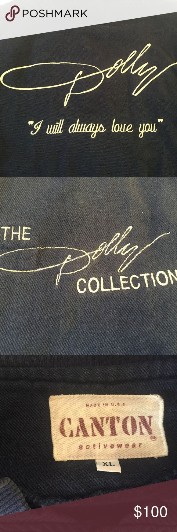 Vintage Dolly Parton Jacket Vintage Women's Dolly Parton Jacket. Sleeves has a bit of staining from the blue parts of the jacket. Canton Activewear Jackets & Coats