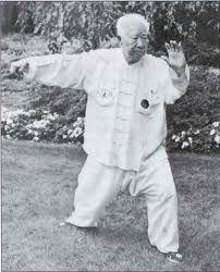 Yang Style master and nephew of Yang Cheng Fu, Fu Zhong Wen. He demonstrates Single Whip at the age of 91. -  #TaiChi #Taijiquan