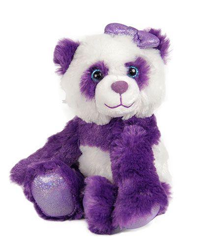 Small Purple Plush Panda