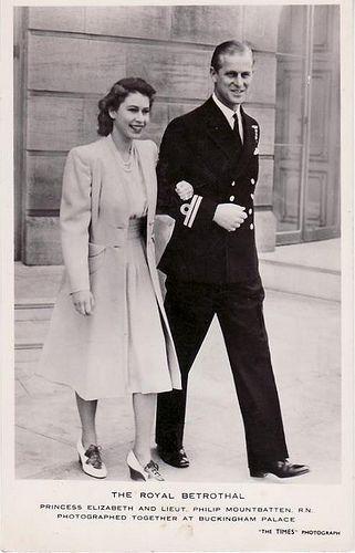 Prinzessin Elizabeth von England mit Philipp Mountbatten | Flickr - Photo Sharing!