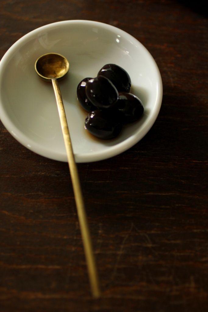 Vintage Brass Spoon