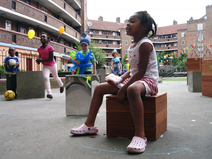 Kennington playscape make good hoxton london 2010 playscapes · playgroundscontemporary designoutdoor