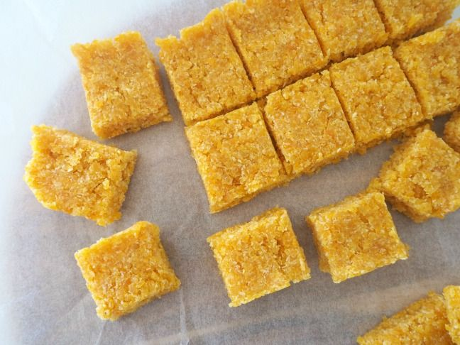 2-Ingredient Apricot and Coconut Slice Recipe