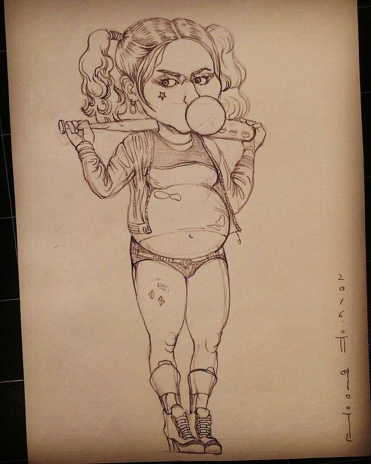 #harleyquinn #suicidésquad #margotrobbie #드로잉  #drawing  #artworks #yooyoungwun #유영운