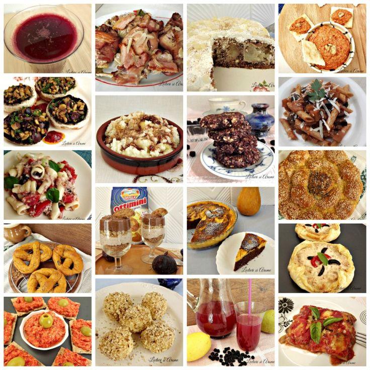 Cartea de bucate a lunii octombrie - 18 retete simple si usor de facut, de aperitive, fel de baza, desert si bauturi naturale