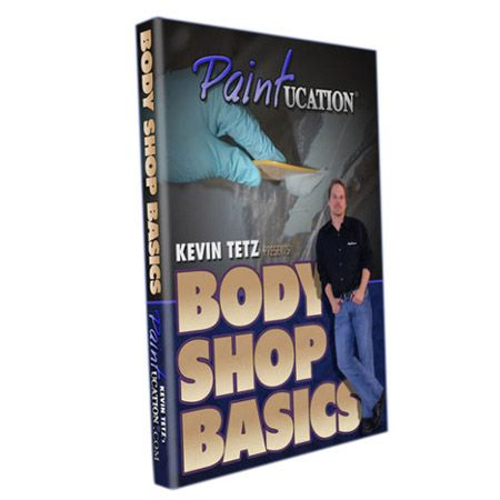 Nama : Education Body Shop Basic ( DVD ) Kode : - Merk : - Tipe : - Status : Siap Berat Kirim : 1 kg  If you've ever wondered what happens behind the doors of a body shop, here's a peek inside. This DVD walks you through a simple repair, but gives a very detailed explanation of every procedure from inspection to final finish prep.