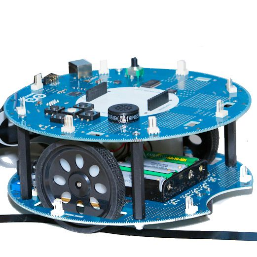 Now Available in the Maker Shed: The New Arduino Robot!