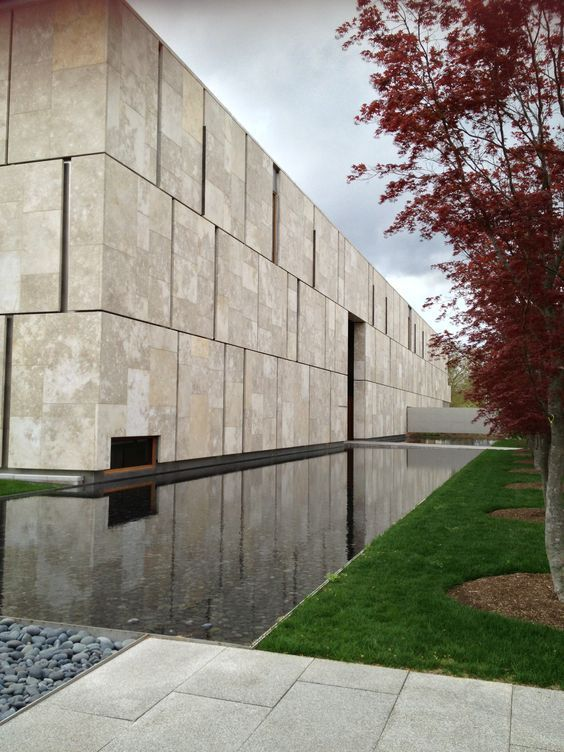 Image result for The Barnes Foundation - Tod Williams Billie Tsien Architects by Scott Norsworthy