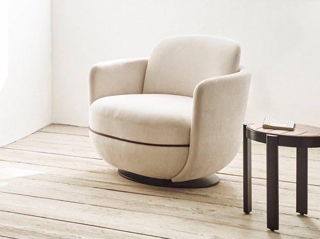 Swivel Fabric Armchair Lounge Armchair Lounge Chair Contemporary Armchair
