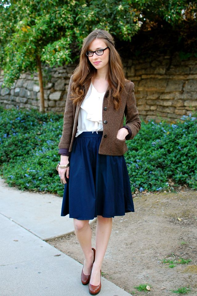 #StitchFix Librarian meets professor in this look from Mara of M Loves M.  I love this whole outfit!!!! This is definitely my style.
