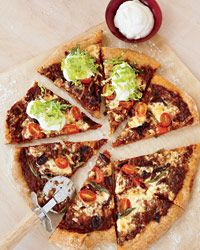 Vegetarian Mexican Pizza