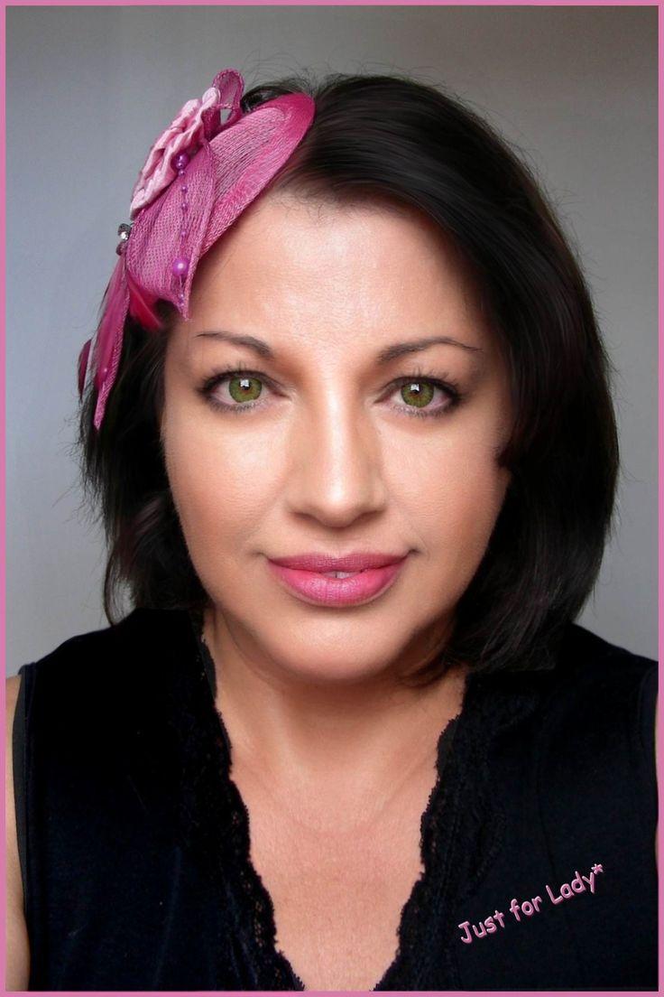 Bibi - Chapeau / Coiffure Rose ancien - Lin, fleur, cabochon et plumes - Mariages, Cérémonies, Cocktails... : Chapeau, bonnet par ladyplazza