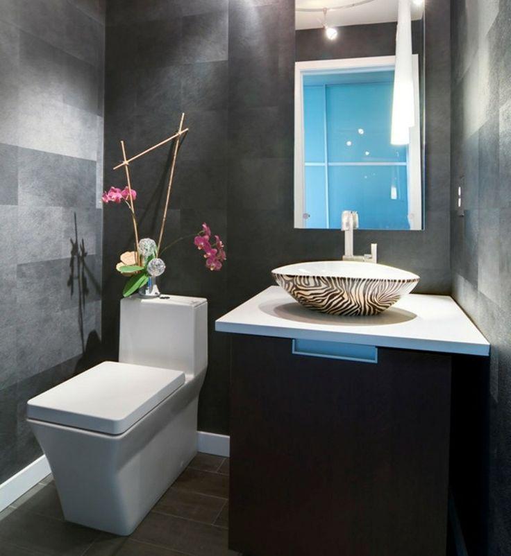 Photo Image D coration WC toilette id es originales Grey BathroomsLuxury Bathrooms Bathroom