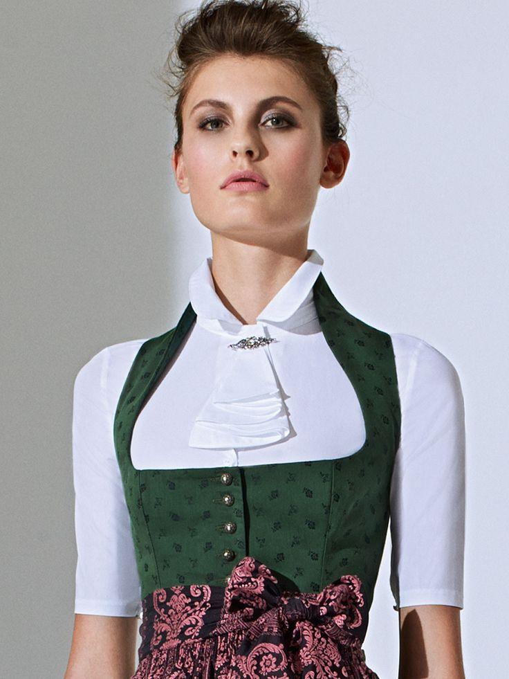 Dirndl Bluse elegnat Modell Cora von Gottseidank