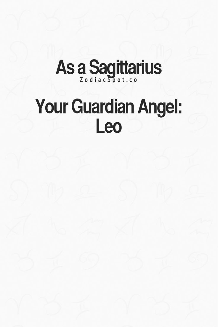 I knew this.  My mom's a Leo, and she's always watching over me from heaven.