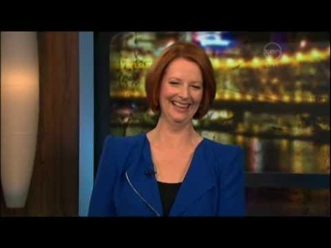 ▶ Kitty Flanagan on Australian democracy - The 7pm Project (w/special guest PM Julia Gillard) - YouTube