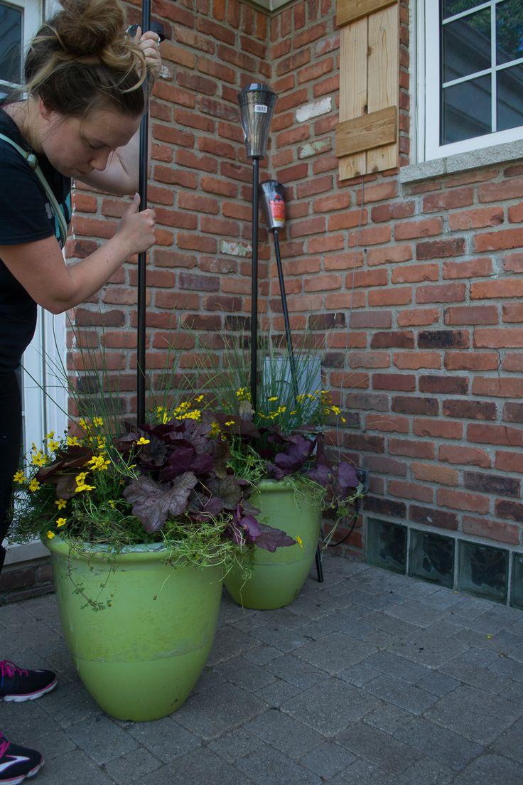 Tiki Torch Planter DIY-7